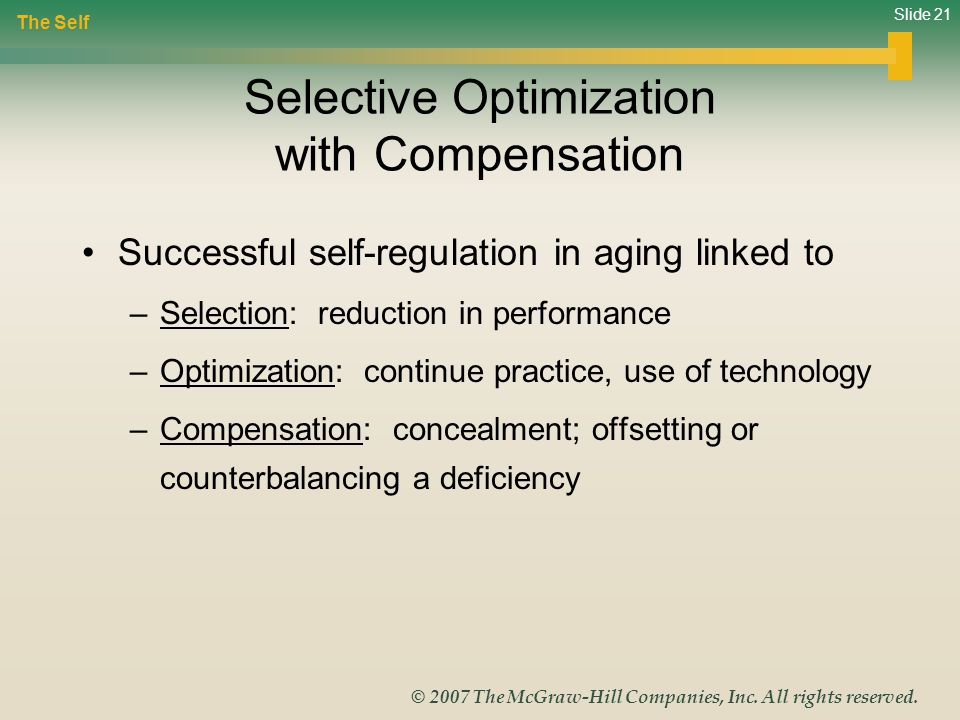 Slide 21 © 2007 The McGraw-Hill Companies, Inc.All rights reserved.