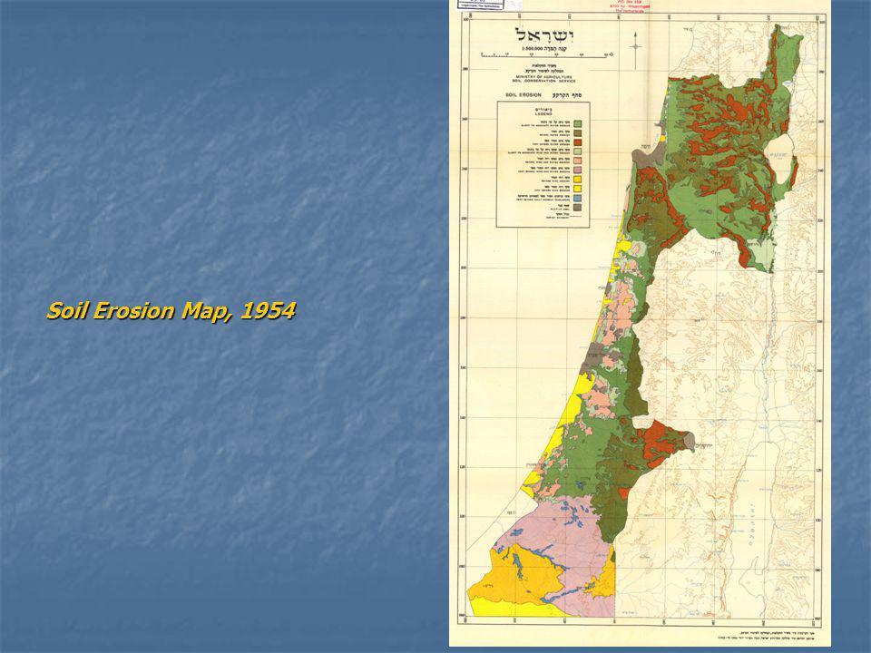 Soil Erosion Map, 1954