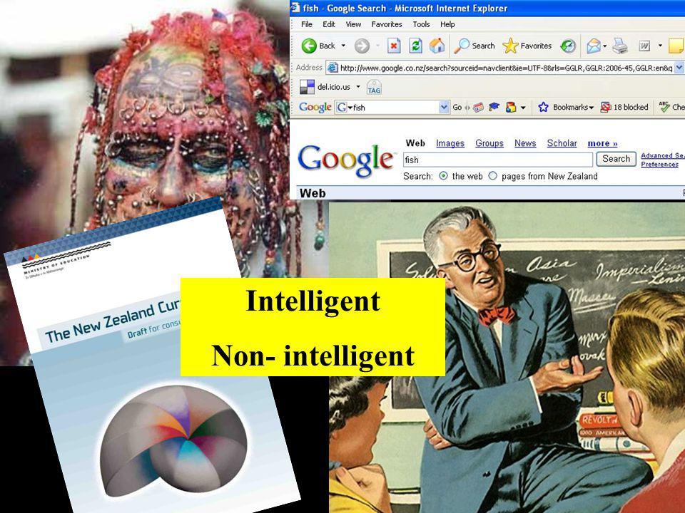 Intelligent Non- intelligent