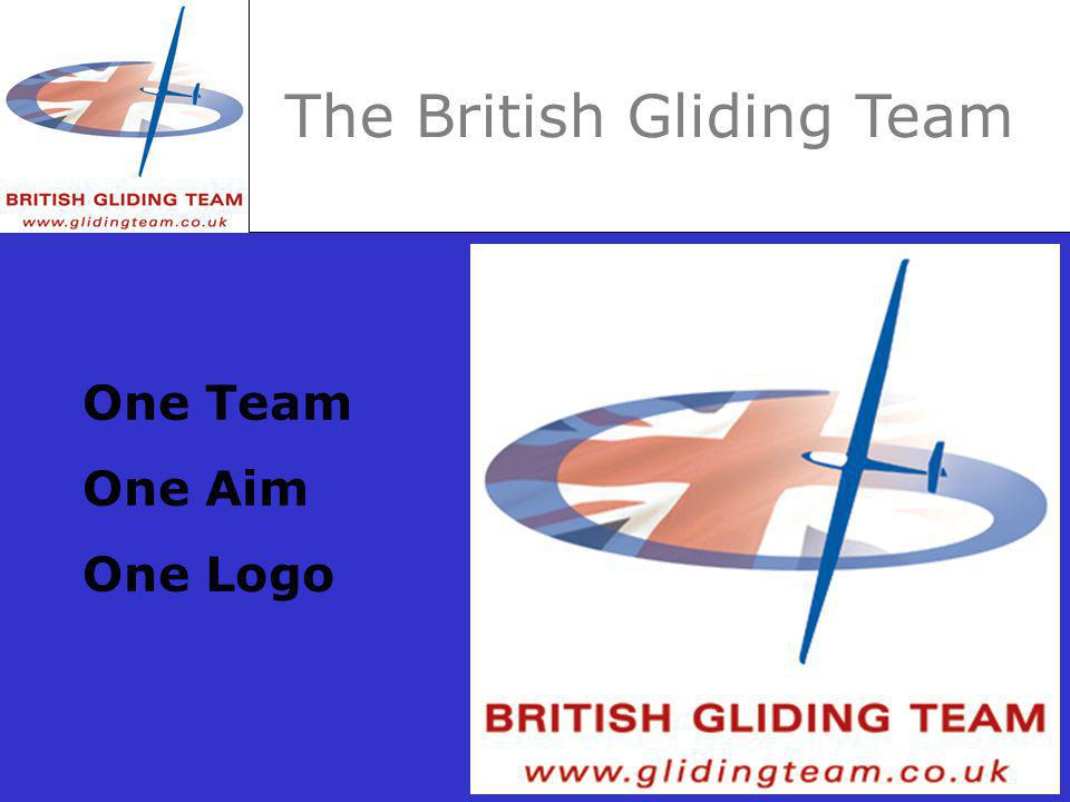 The British Gliding Team One Team One Aim One Logo