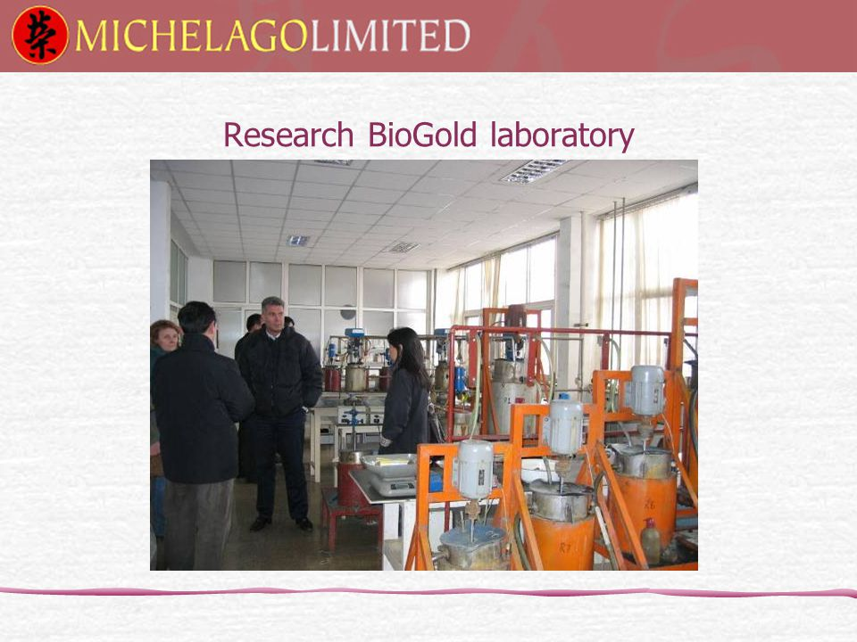 Research BioGold laboratory