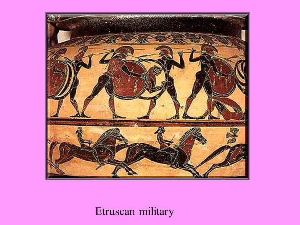 Etruscan military