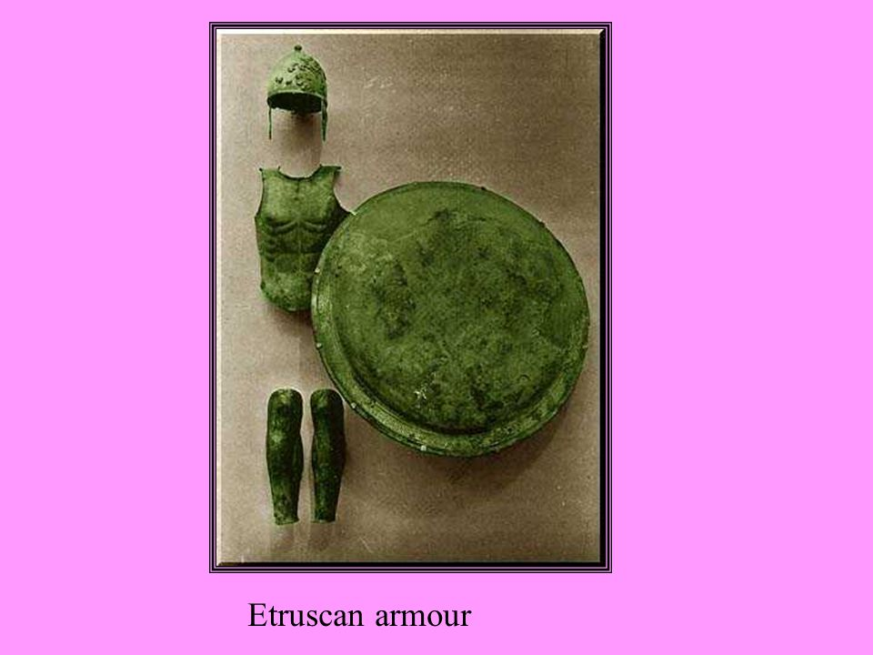 Etruscan armour