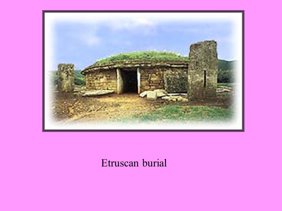 Etruscan burial
