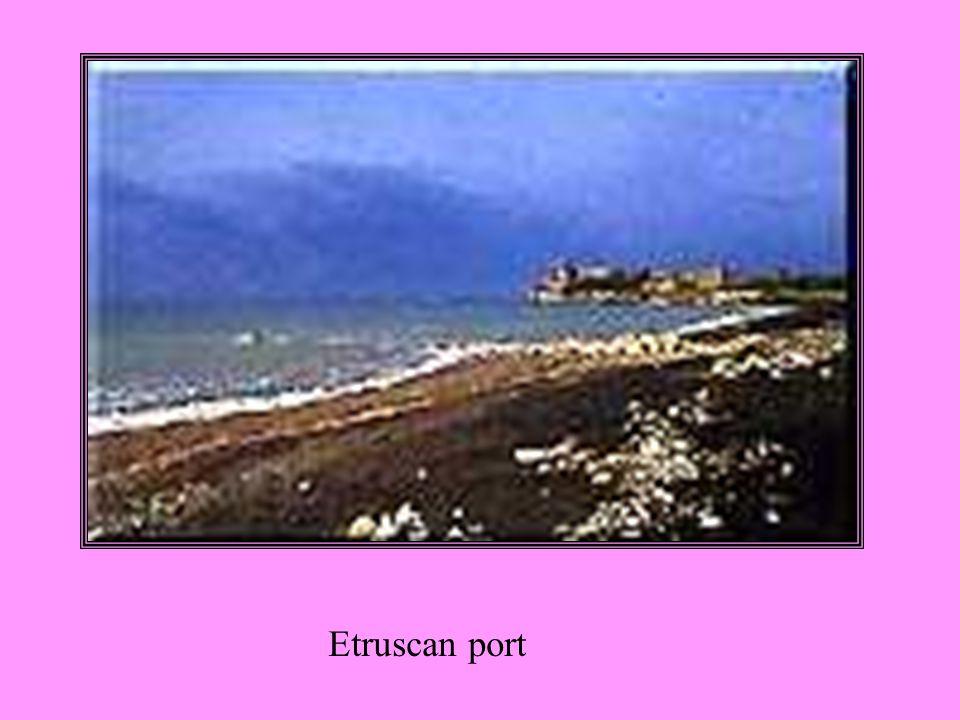 Etruscan port
