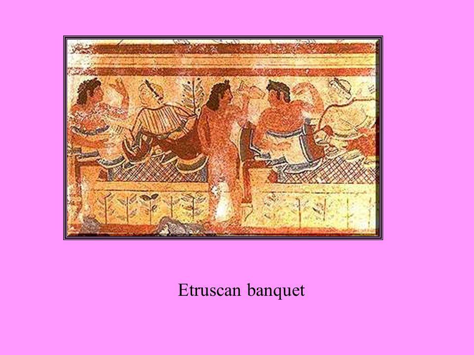 Etruscan banquet