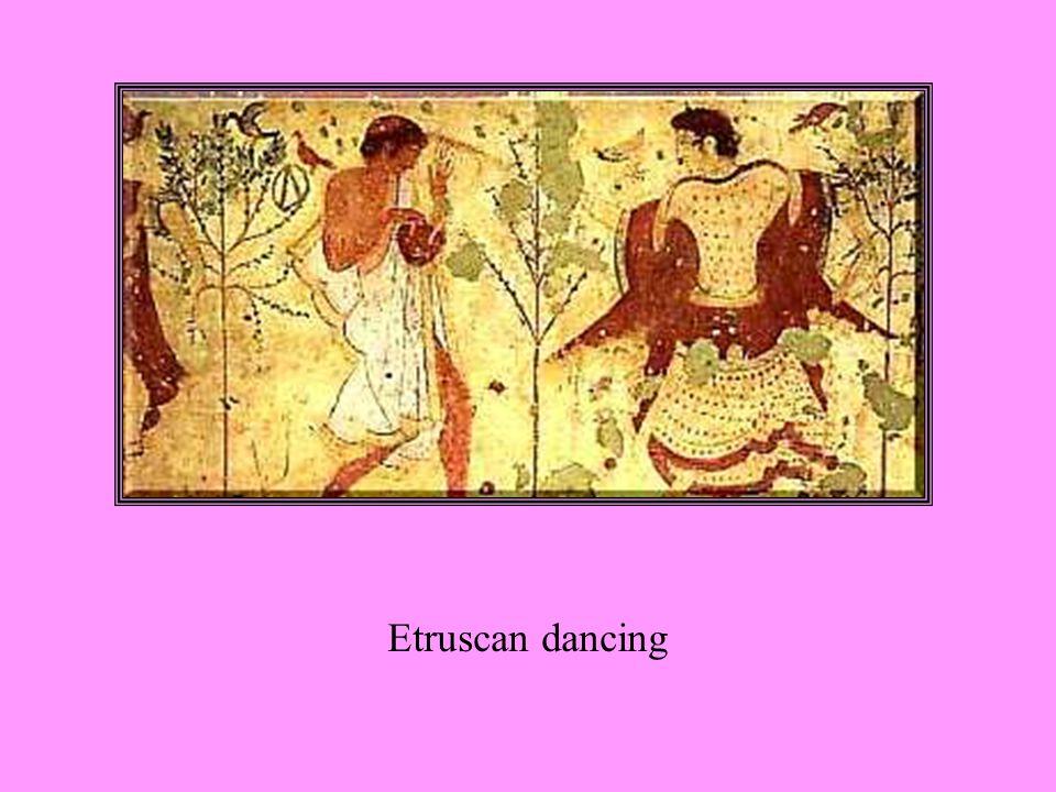 Etruscan dancing