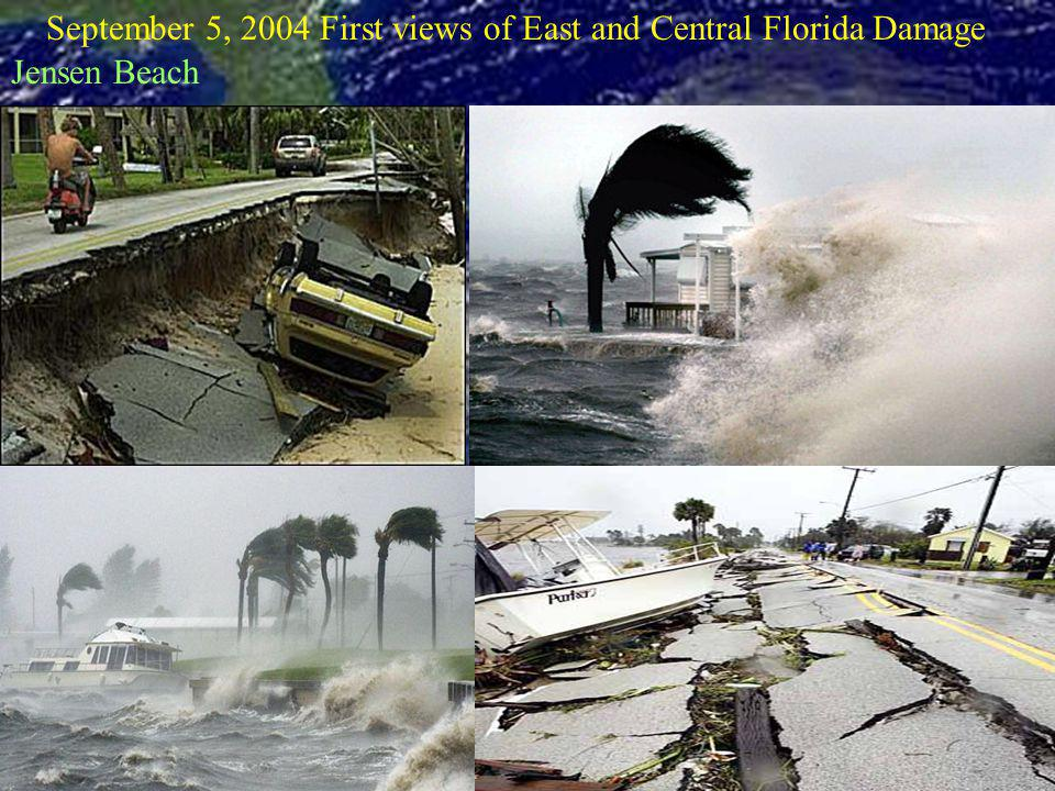 September 5, 2004 First views of East and Central Florida Damage Jensen Beach