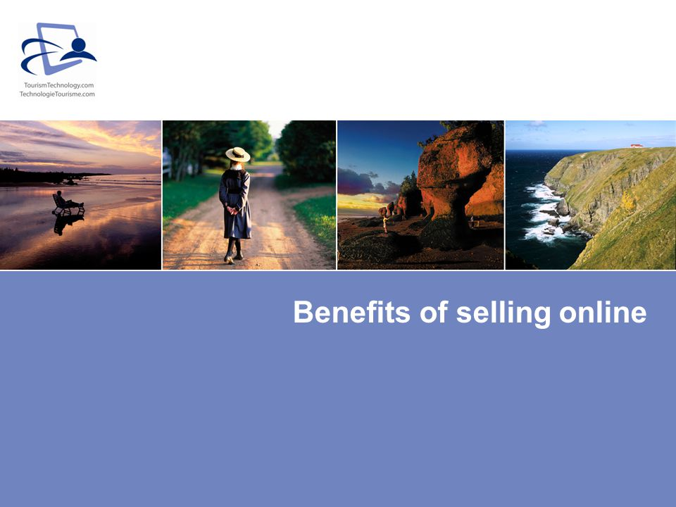 Benefits of selling online