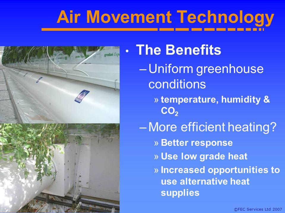 ©FEC Services Ltd 2007 Fan & Duct Systems