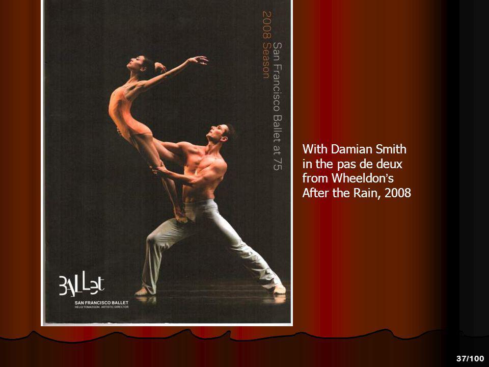 36/100 With Ruben Martin in Balanchine s Diamonds 2009