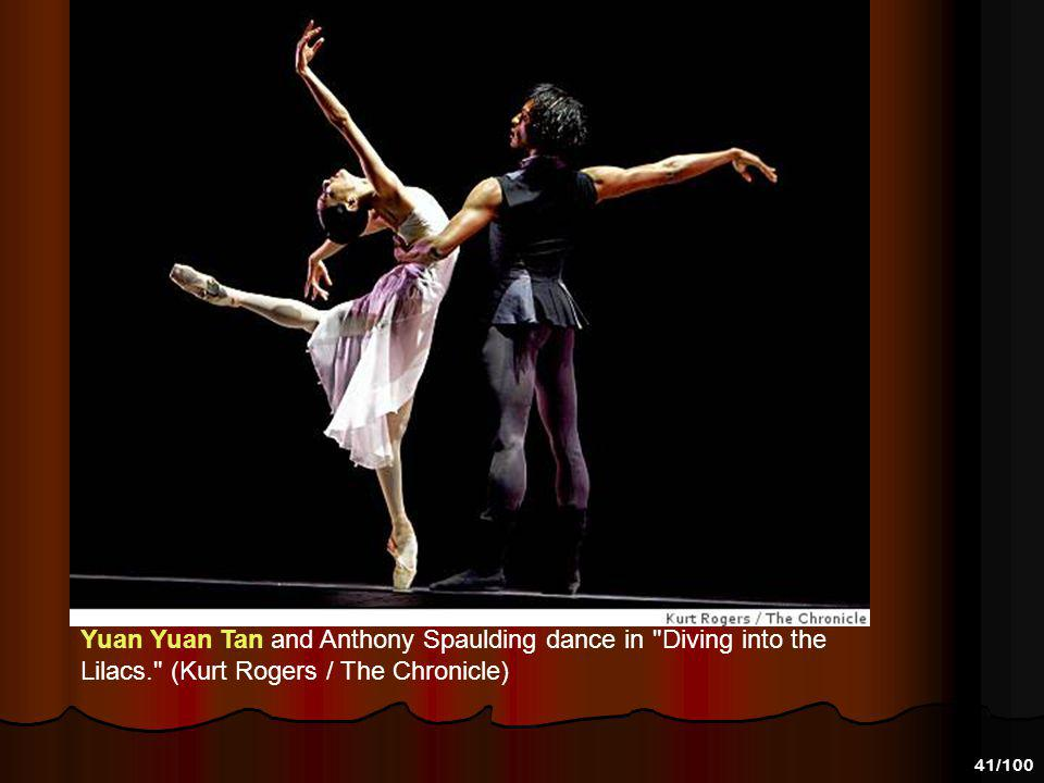 40/100 Yuan Yuan Tan and Yuri Possokhov in Lubovitch's Othello. Photo-C Marty Sohl