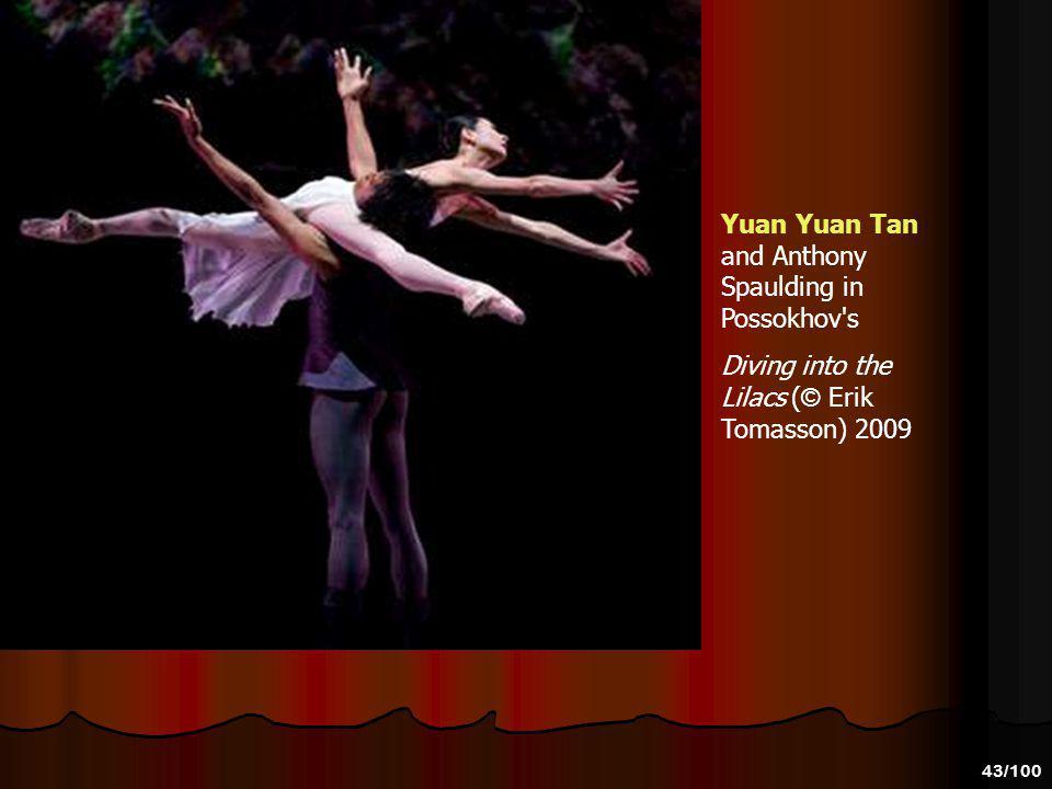 42/100 Yuan Yuan Tan and Anthony Spaulding's dancing in