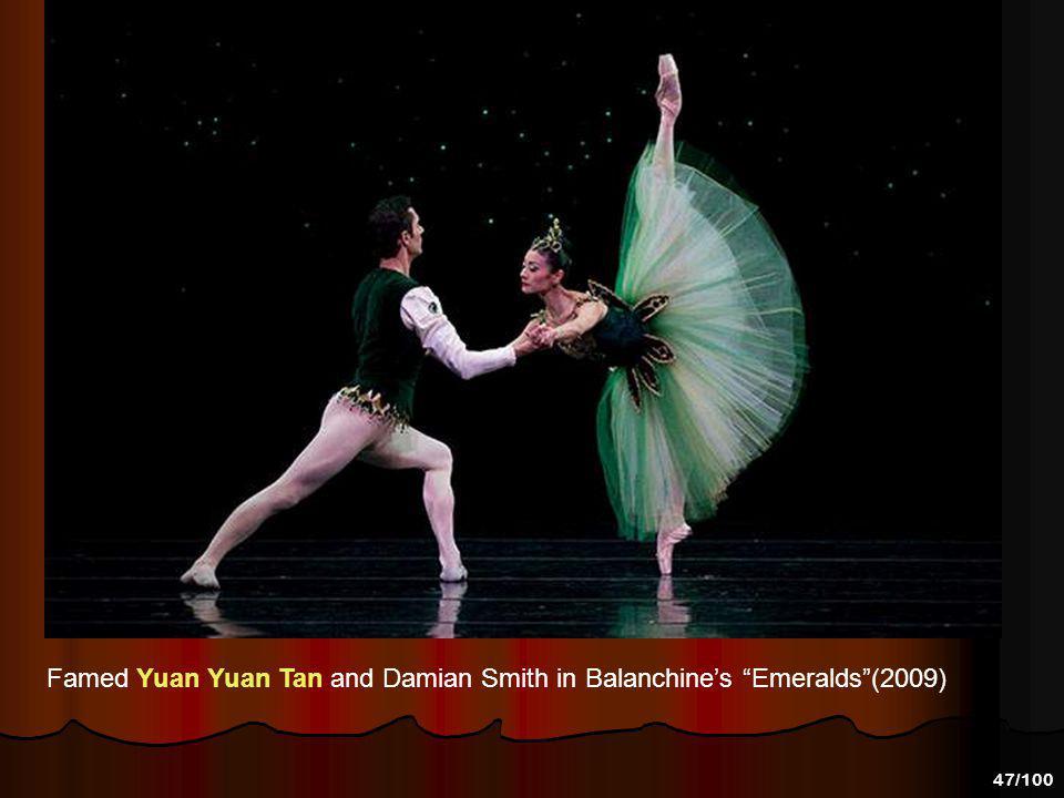 46/100 Yuan Yuan Tan and Ruben Martin in Welch's Naked. Photo: Erik Tomasson 2009