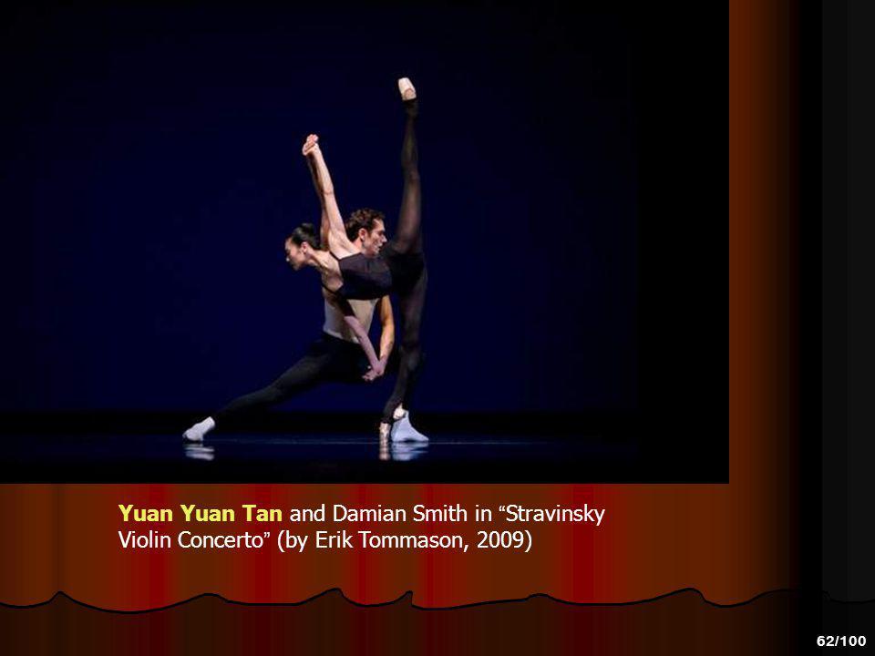 61/100 Yuan Yuan Tan and Damian Smith in Stravinsky Violin Concerto (by Erik Tommason, 2009)