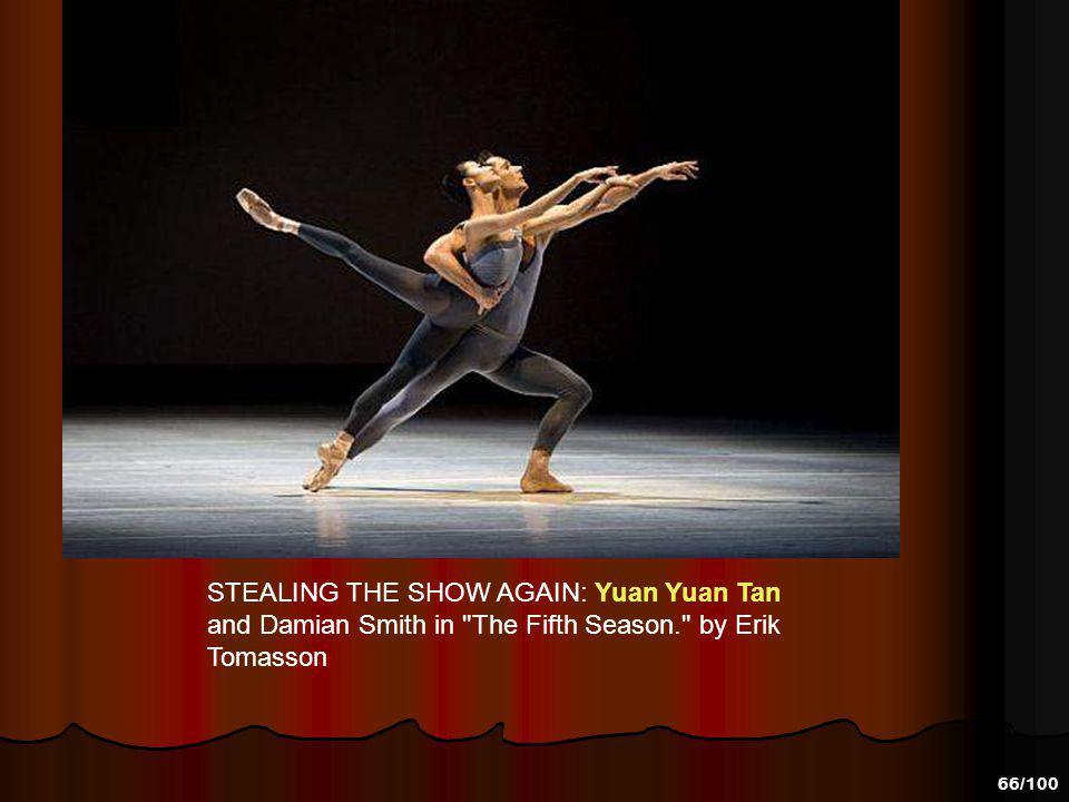 65/100 Yuan Yuan Tan and Damian Smith in Yuri Possokhov s Fusion, by Erik Tommason 2008