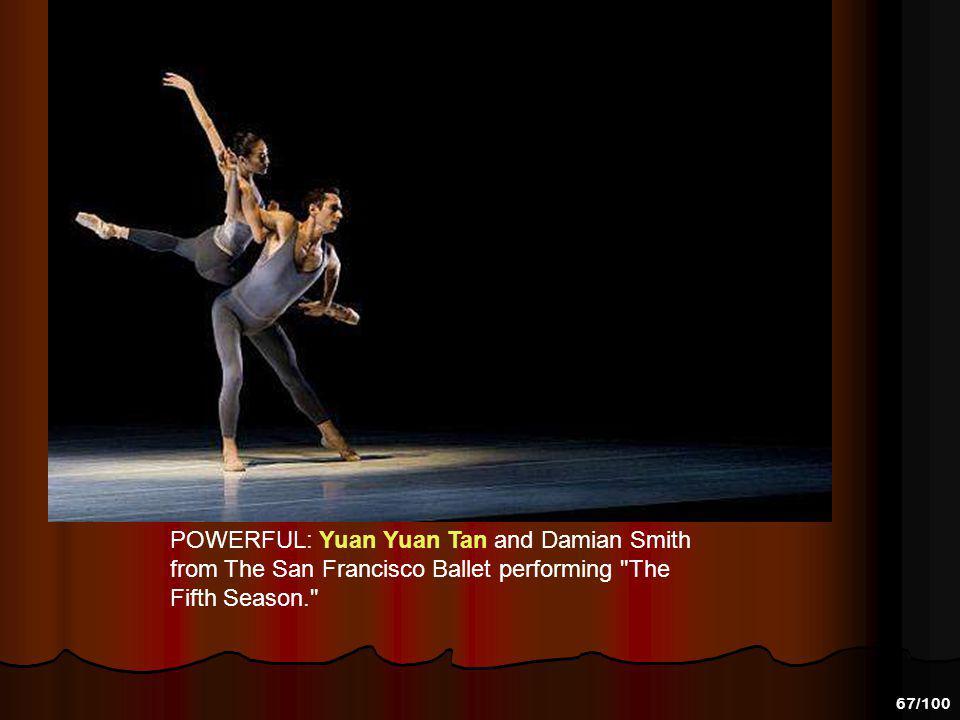 66/100 STEALING THE SHOW AGAIN: Yuan Yuan Tan and Damian Smith in