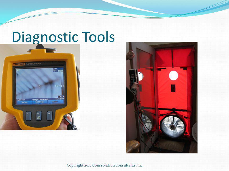 Diagnostic Tools Copyright 2010 Conservation Consultants, Inc.