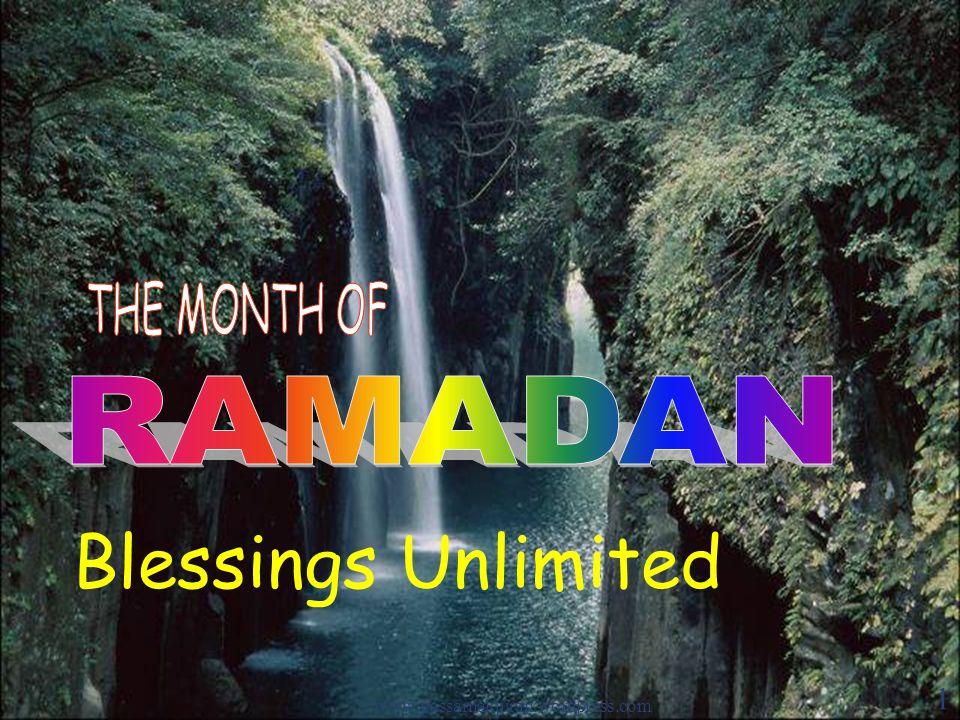 Blessings Unlimited www.yassarnalquran.wordpress.com 1