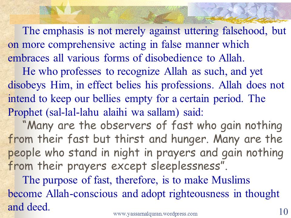 The emphasis is not merely against uttering falsehood, but on more comprehensive acting in false manner which embraces all various forms of disobedien