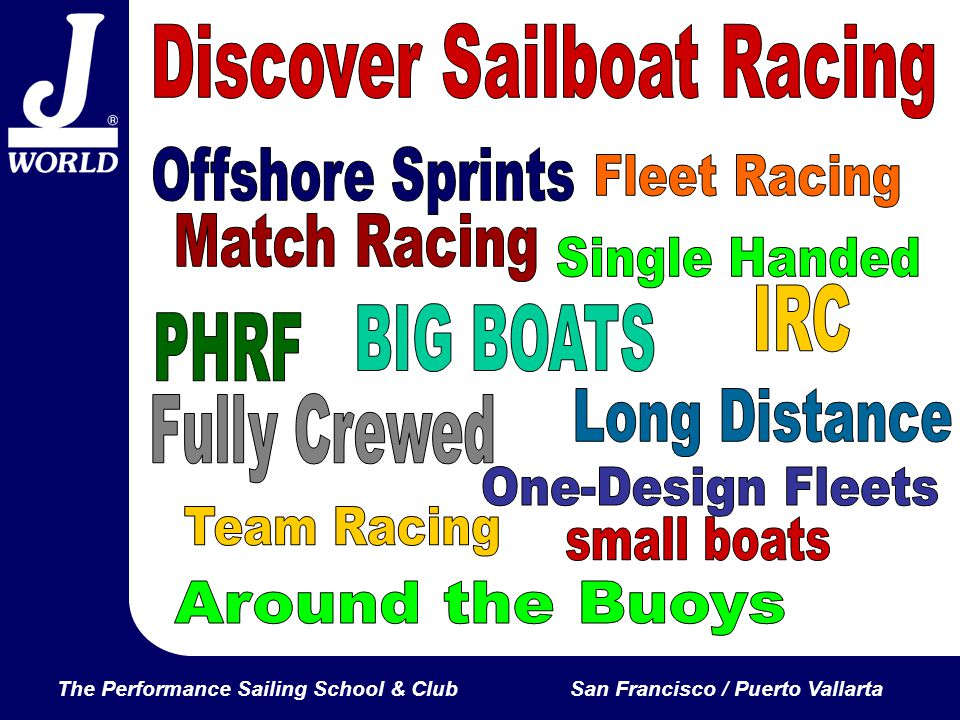 The Performance Sailing School & ClubSan Francisco / Puerto Vallarta Discover the Possibilities.