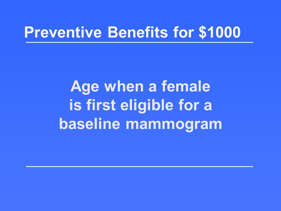 What is Bone Mass Measurement? Preventive Benefits for $800 Return to the board!