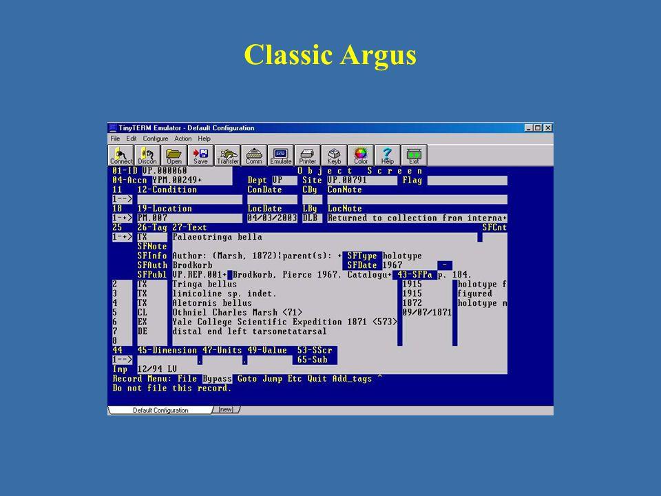 Classic Argus
