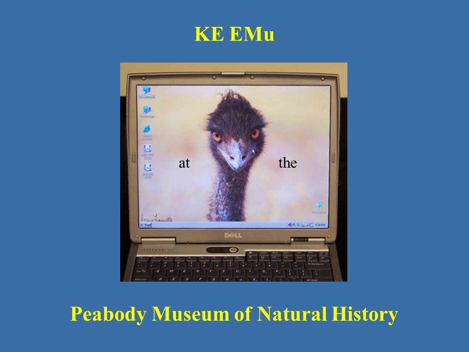 KE EMu Peabody Museum of Natural History atthe