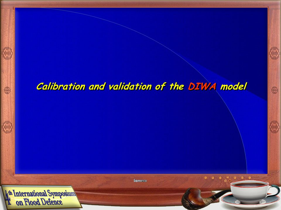 Calibration and validation of the DIWA model