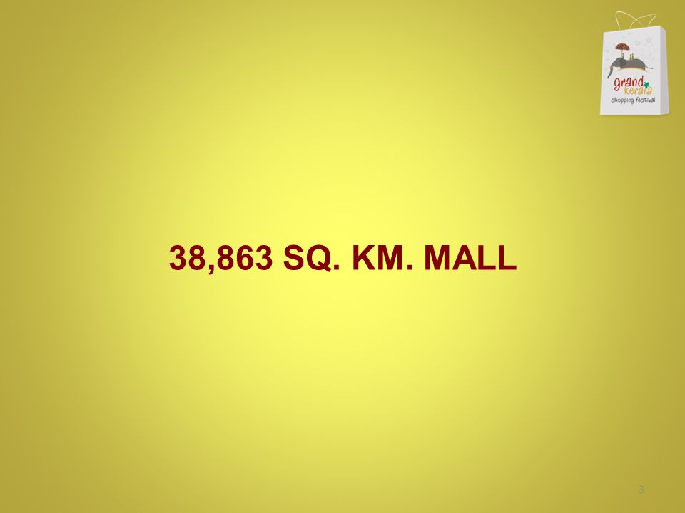 38,863 SQ. KM. MALL 3