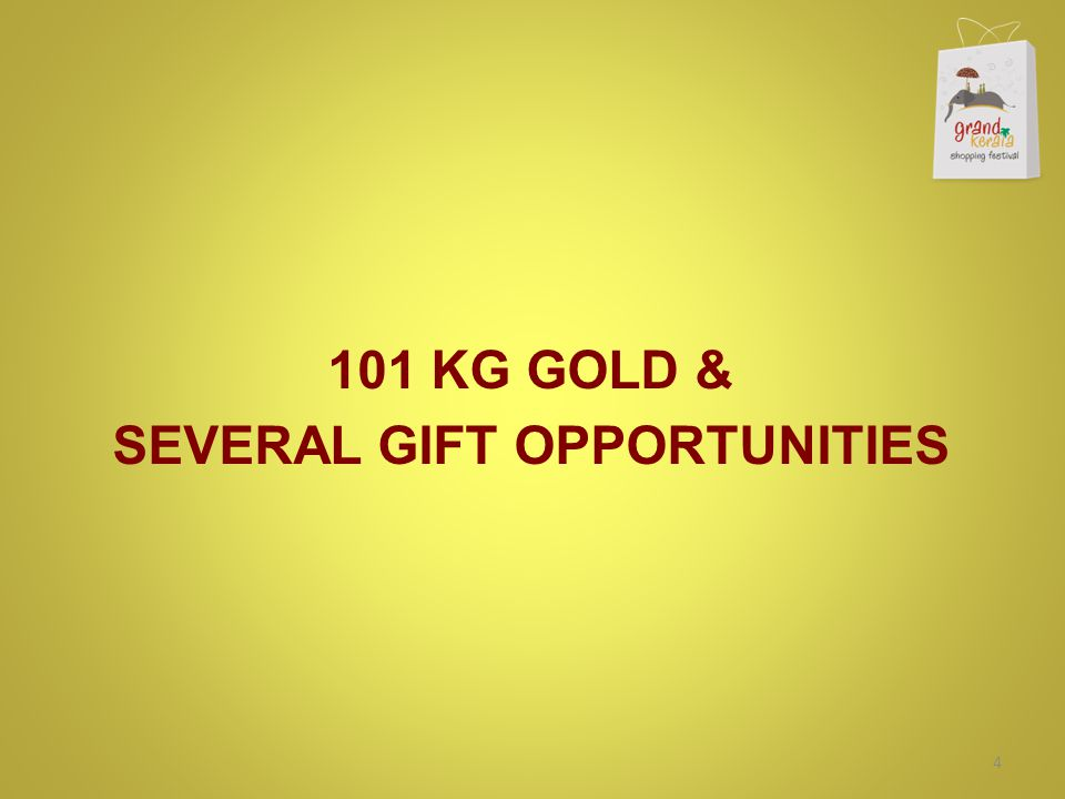 101 KG GOLD & SEVERAL GIFT OPPORTUNITIES 4