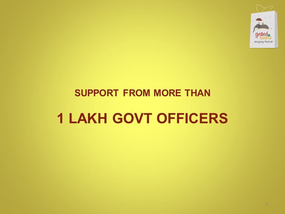 SUPPORT FROM MORE THAN 1 LAKH GOVT OFFICERS 5
