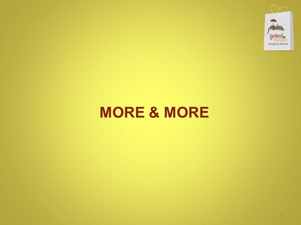 MORE & MORE 8