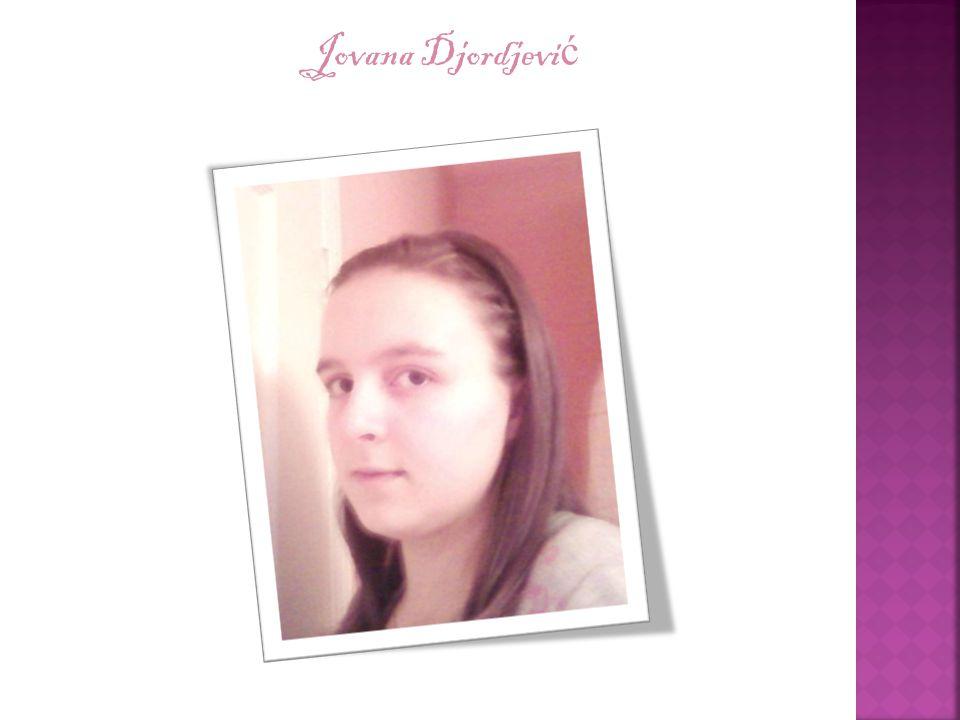 Jovana Djordjevi ć