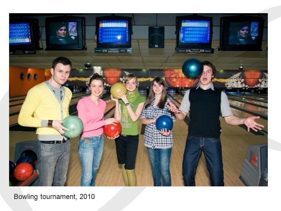 Bowling tournament, 2010