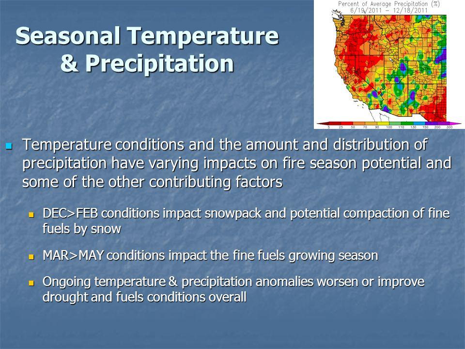 Fire Season 2011: Combined Fire Potential Factors 1.