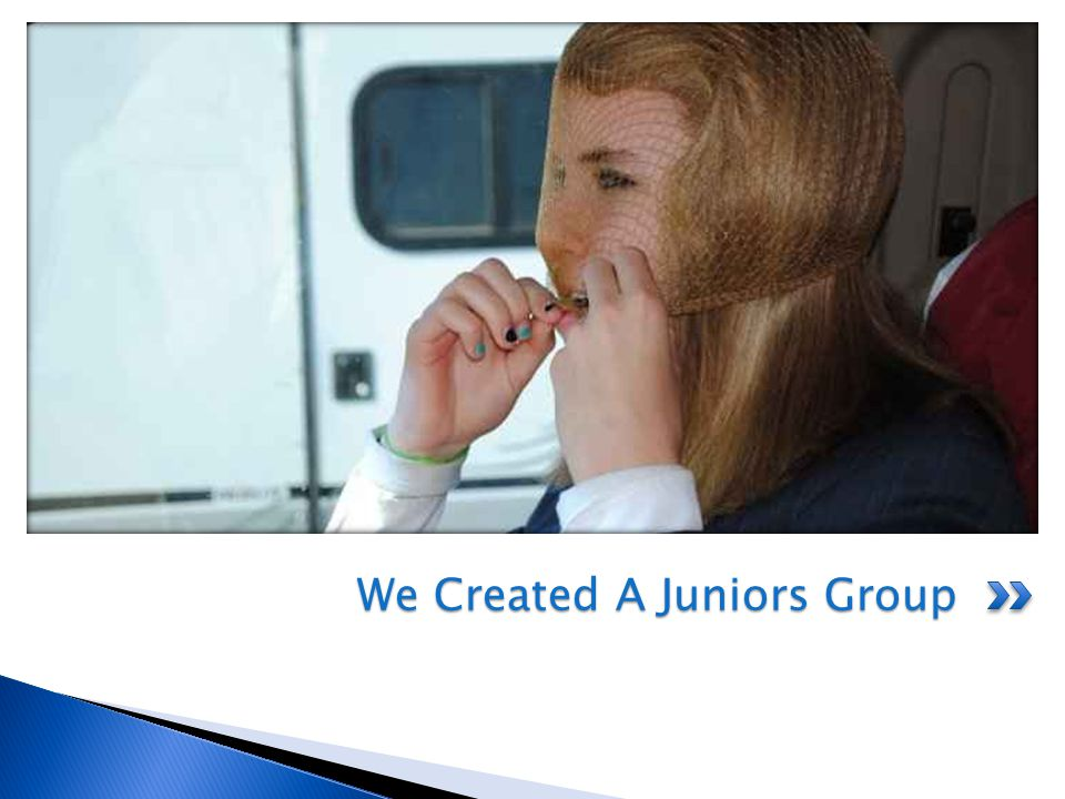 We Created A Juniors Group