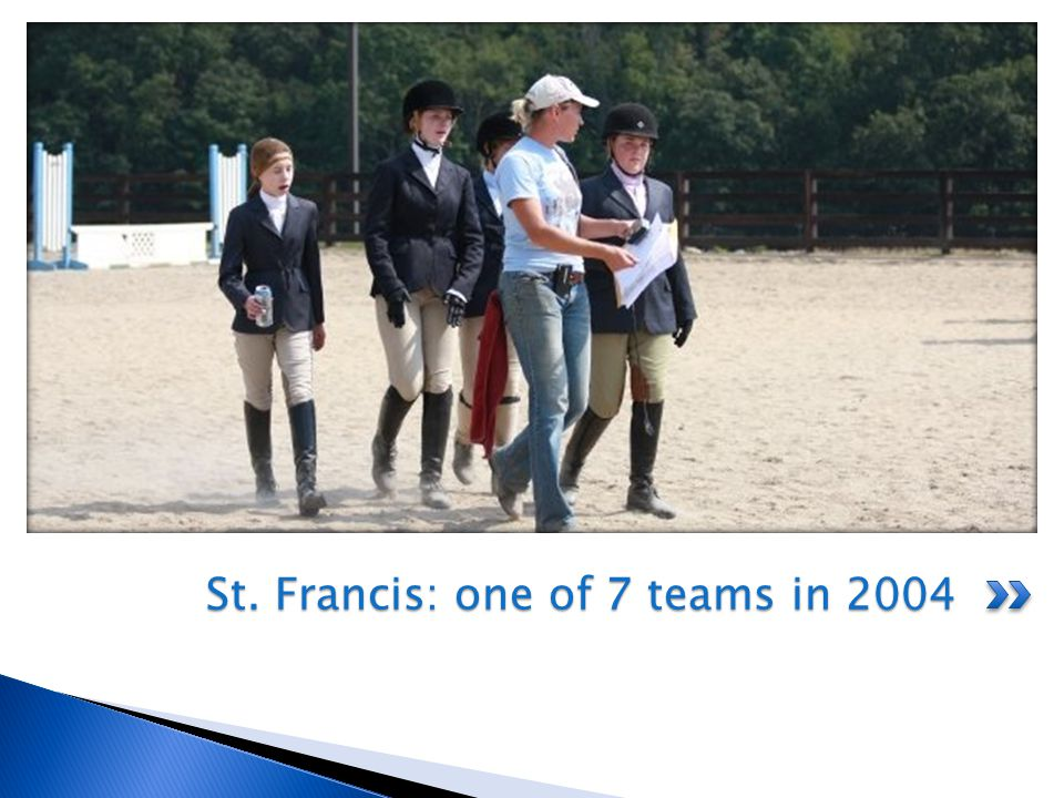 Zone 4 had 22 teams and sent 3 to Nationals.The show that year was much smaller than in 2010.
