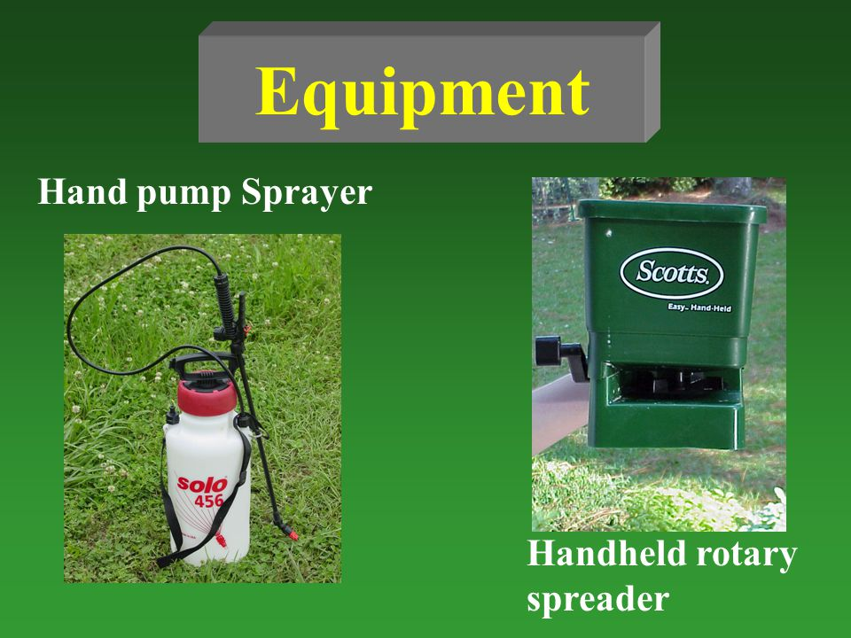 Equipment Hand pump Sprayer Handheld rotary spreader