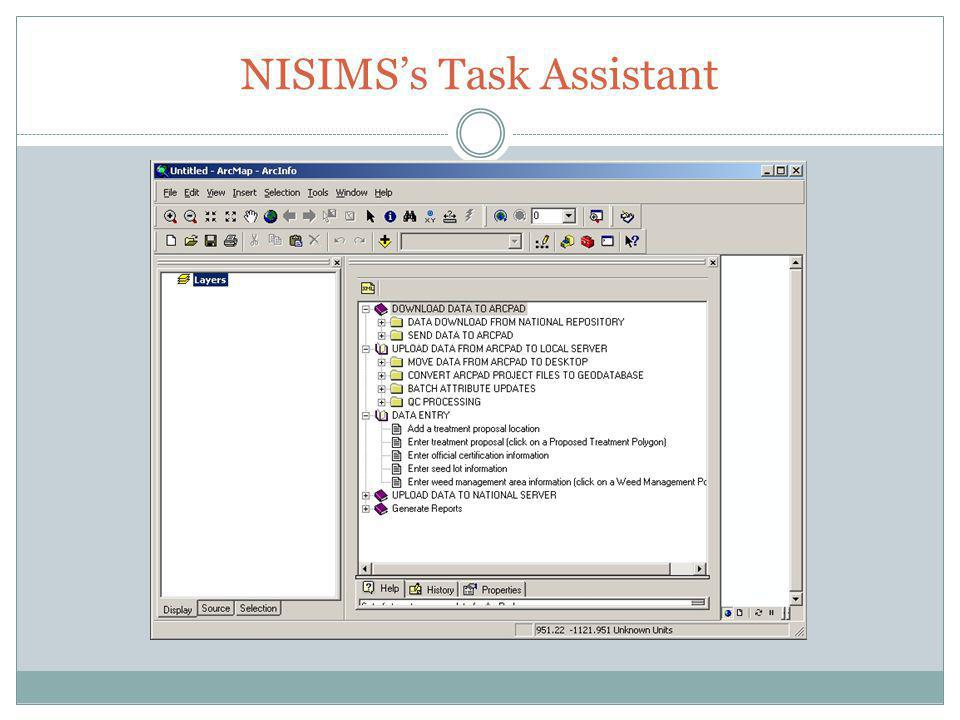 NISIMSs Task Assistant