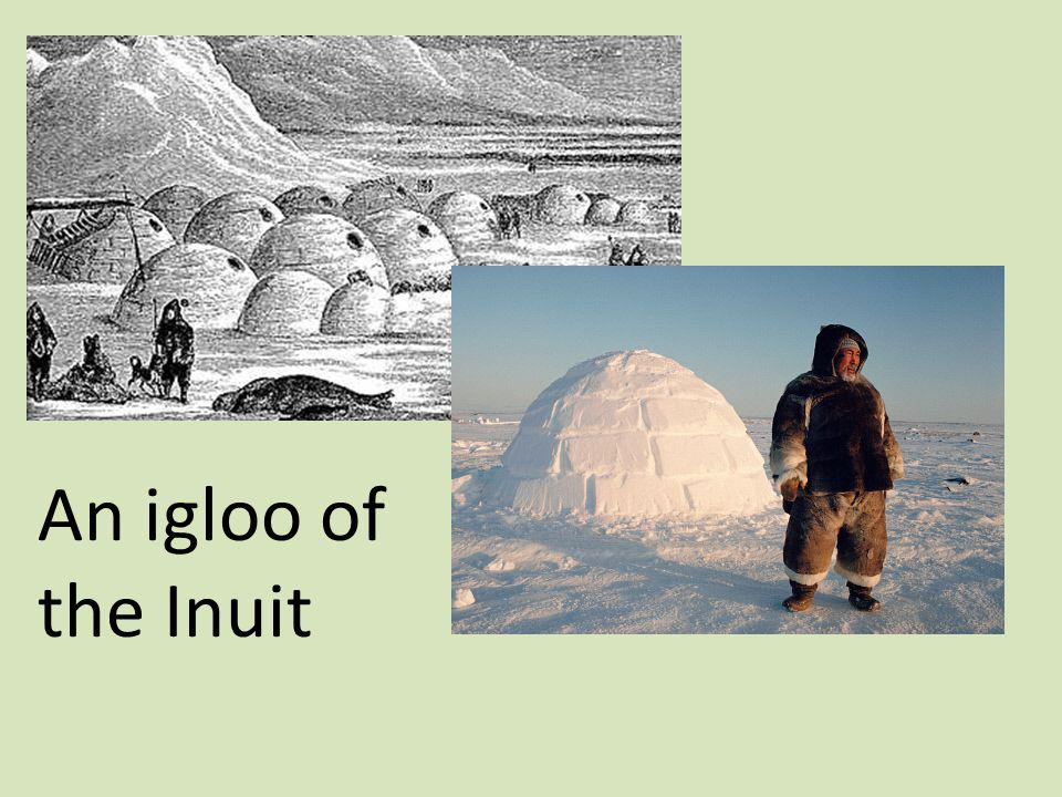 An igloo of the Inuit