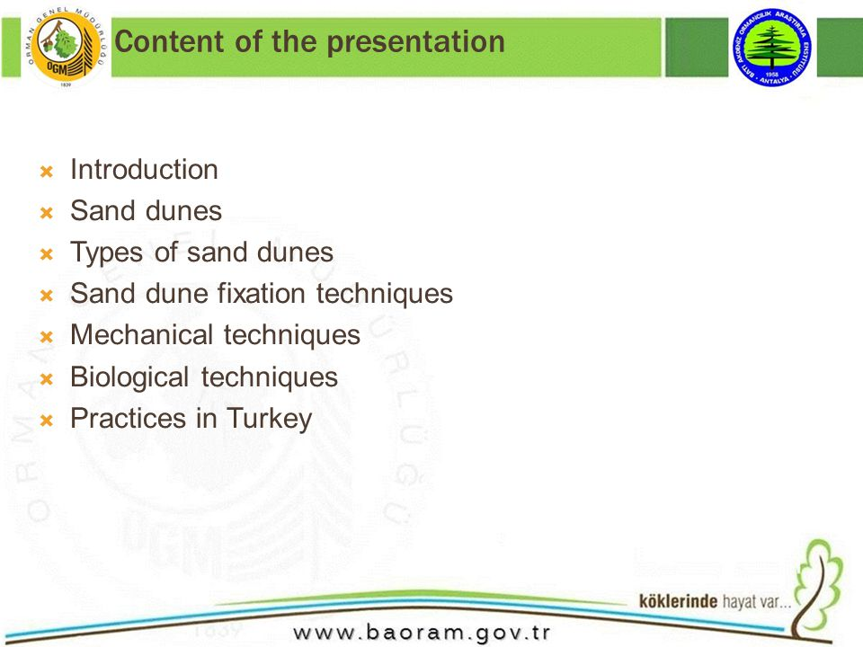 Conclusions Human beings are at the heart of the desertification problem, either as actors or victims.