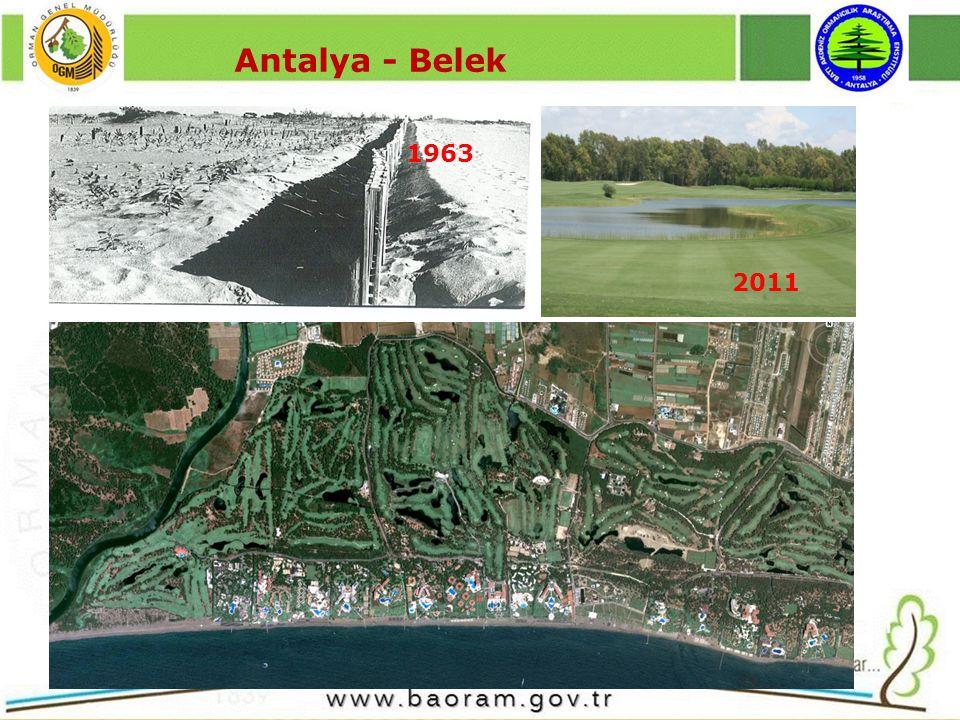 Antalya - Belek 1963 2011