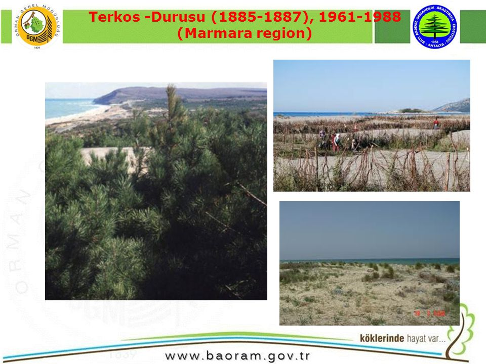 Terkos -Durusu (1885-1887), 1961-1988 (Marmara region)