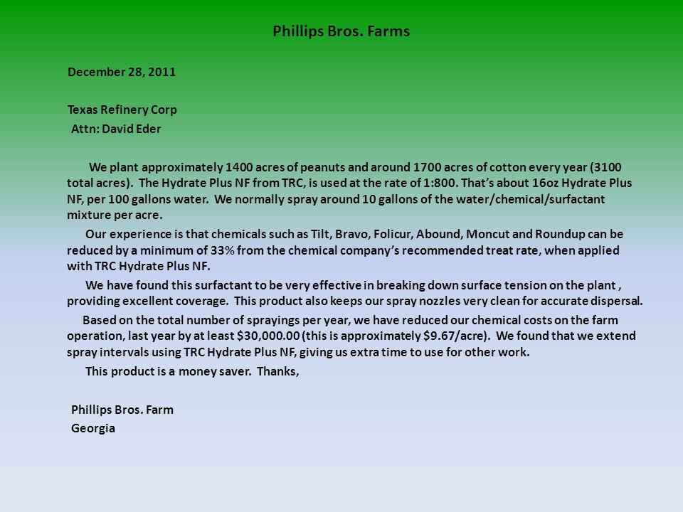 Phillips Bros.