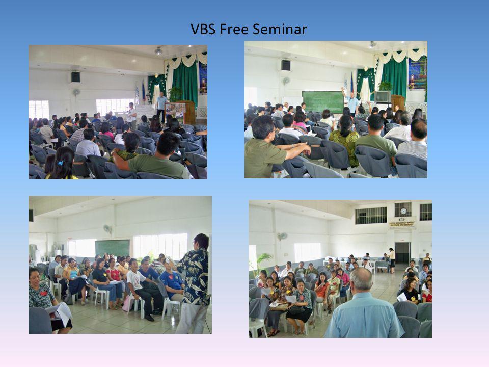 VBS Free Seminar