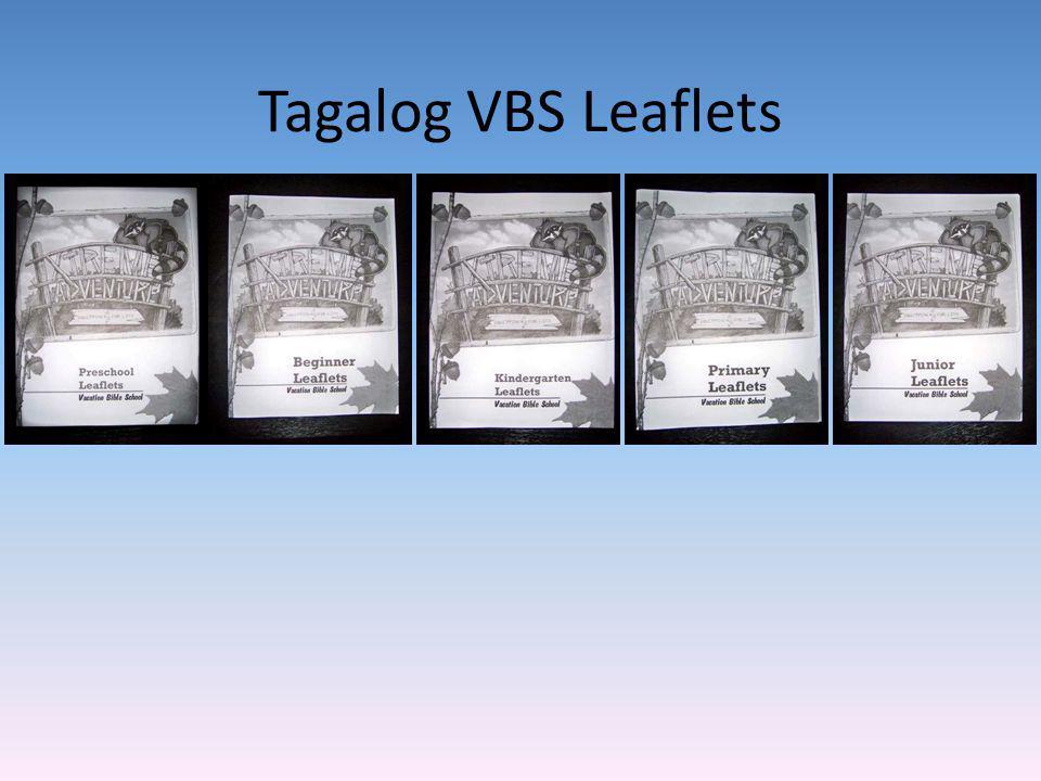 Tagalog VBS Leaflets