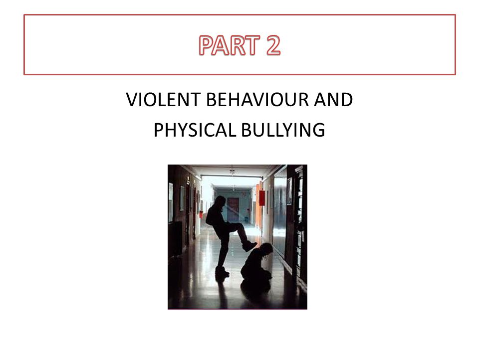 The HUGA Process - Learners Report violent behaviour or physical bullying to an educator or adult staff member immediately.