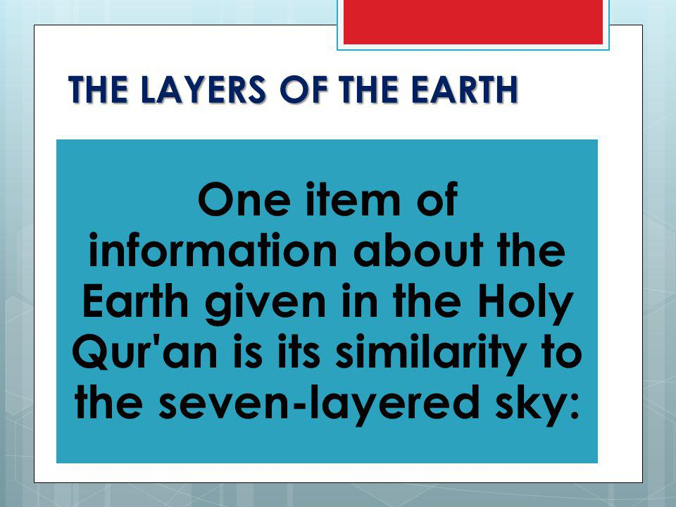 THE LAYERS OF THE EARTH It was formed of hot, semi-solid substances capable of melting when exposed to high temperatures and pressure over geological time.