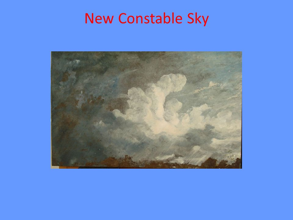 New Constable Sky